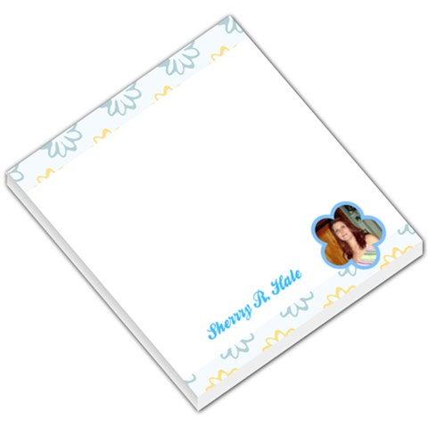 Flower 005 By Sherry Hammons   Small Memo Pads   V81dw0ck6wxk   Www Artscow Com