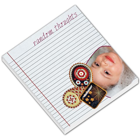 Independently Beautiful   Memo Pad 01 By Creative Chaos   Small Memo Pads   Ychqeb7cxhbp   Www Artscow Com