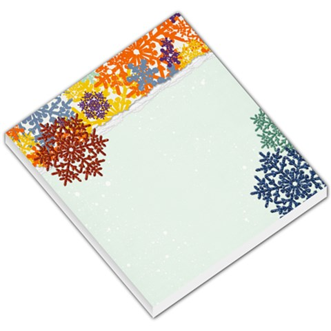 Memo Pad, Fun Winter By Mikki   Small Memo Pads   4wlibxp6vp2z   Www Artscow Com