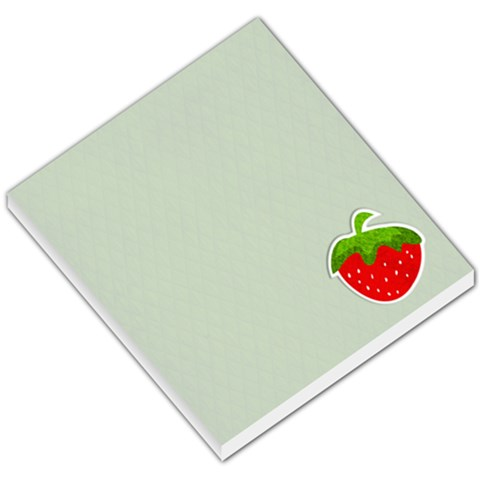 Memo Pad, Strawberry By Mikki   Small Memo Pads   2sgg3wyin54n   Www Artscow Com