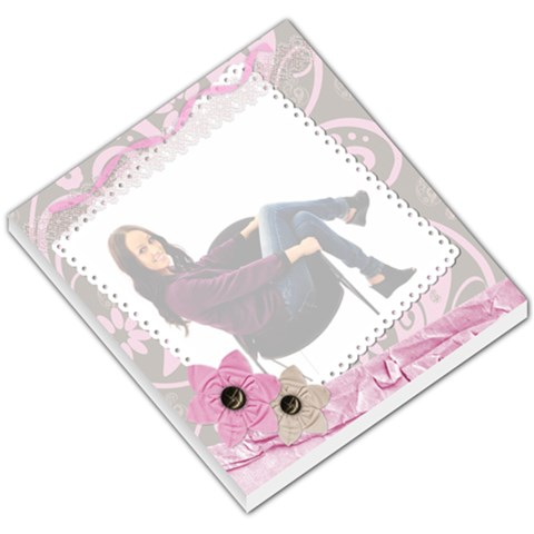 Pretty Pink Memo Pad By Danielle Christiansen   Small Memo Pads   0x0ibzxnff27   Www Artscow Com