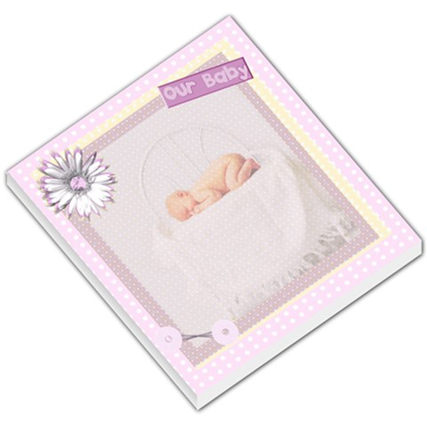 Our Baby Memo Pad By Danielle Christiansen   Small Memo Pads   255c14dccwqp   Www Artscow Com