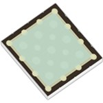 Blue and Brown Flower Memo - Small Memo Pads