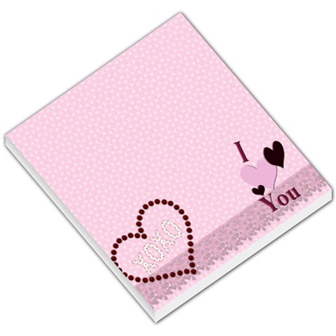 Valentines Day  Memo Pad By Danielle Christiansen   Small Memo Pads   Evrha0fodyv6   Www Artscow Com