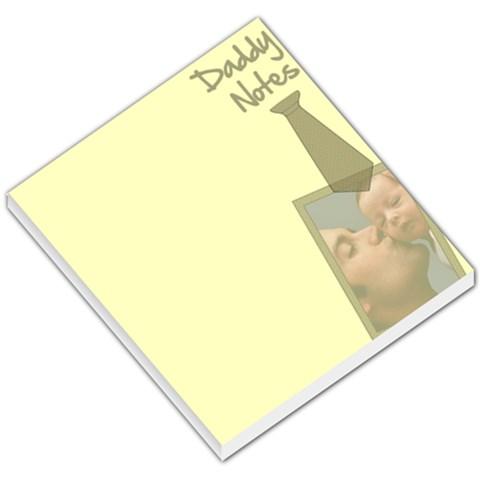 Daddy Notes   Memopad By Carmensita   Small Memo Pads   F87c6pv0fqj3   Www Artscow Com