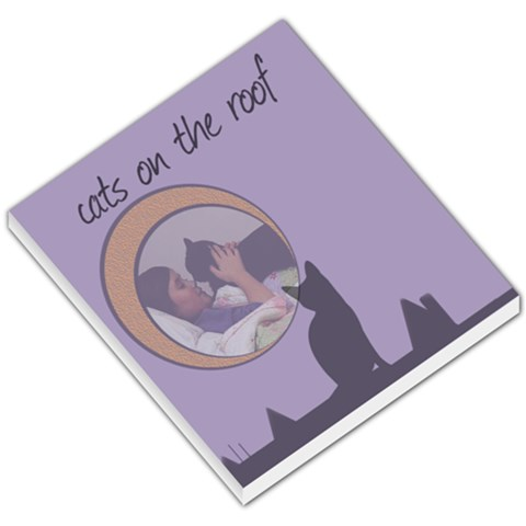 Cats On The Roof   Memo Pad By Carmensita   Small Memo Pads   Ao4rbbwd0nhd   Www Artscow Com
