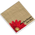 Red Daisy Memo Pad - Small Memo Pads