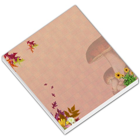 Falling Leaves By Snackpackgu   Small Memo Pads   8bkx540sr354   Www Artscow Com