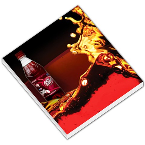 Dr Pepper Memo Pad By Yousef Aloul   Small Memo Pads   4c26bvzf2ps2   Www Artscow Com