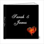 Swirls & Hearts 6x6 Album - 6x6 Photo Book (20 pages)