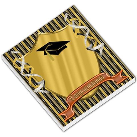 Graduate 2 By Snackpackgu   Small Memo Pads   C3oajbuom4kf   Www Artscow Com