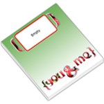 strawberry YOU & ME - MEMOPAD - Small Memo Pads
