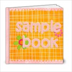 sing and play sample book - 6x6 Photo Book (20 pages)