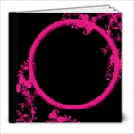 Funky Fuscia 8 x 8 album - 8x8 Photo Book (20 pages)