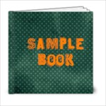wild child sample book  - 6x6 Photo Book (20 pages)