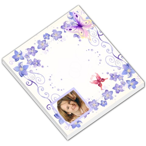 Butterfly Memo By Wood Johnson   Small Memo Pads   Cws7gzznk9yz   Www Artscow Com