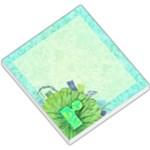 Turquoise R Monogram Memo - Small Memo Pads
