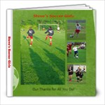 Steves Soccer Girls - 8x8 Photo Book (20 pages)