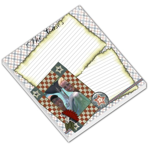 Road Trip   Memo Pad 01 By Brittany Case   Small Memo Pads   Oo51k7rswsam   Www Artscow Com