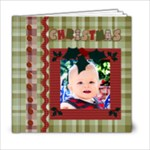 christmas template book - 6x6 Photo Book (20 pages)