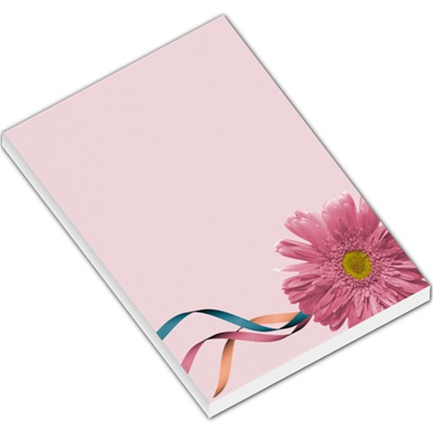 Large Memo Pad Template  Pink Daisy By Mikki   Large Memo Pads   Ywh5wmv2pibv   Www Artscow Com