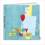 Birthday Boy - 6x6 Photo Book (20 pages)