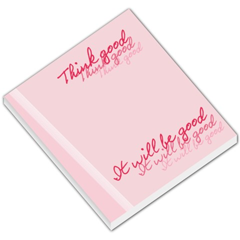 Think Good Memo Pad By Add In Goodness And Kindness   Small Memo Pads   Bylgkty6ziks   Www Artscow Com