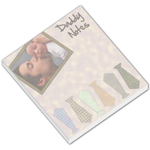 Daddy Notes     Memopad By Carmensita   Small Memo Pads   91ikq510vmhc   Www Artscow Com