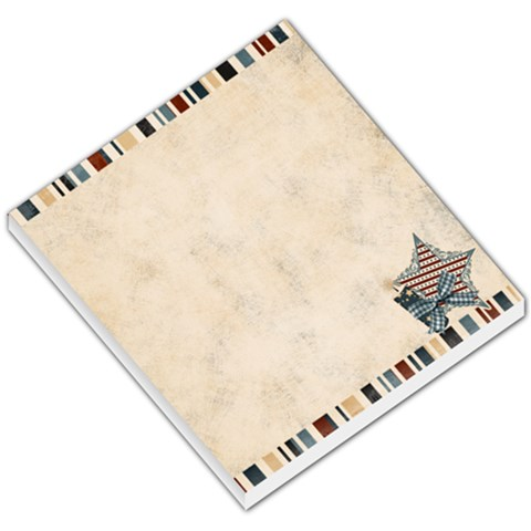 Independance By Sheena   Small Memo Pads   1hlygtmdrl3a   Www Artscow Com