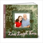 Ephemeral Summer 6x6 Photo Book, Live Laugh Love - 6x6 Photo Book (20 pages)