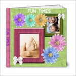 Summer Fun 6x6 Bright Colors - 6x6 Photo Book (20 pages)