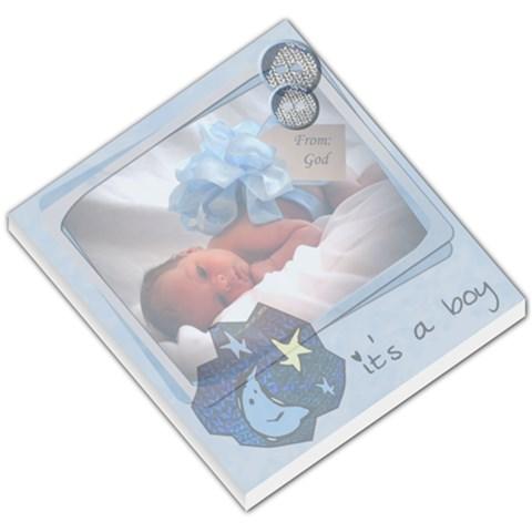 Baby Blue   Memopad By Carmensita   Small Memo Pads   42402a616q0r   Www Artscow Com