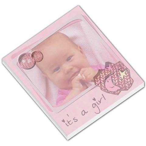 Baby Pink   Memopad By Carmensita   Small Memo Pads   Mijusf1d2l7d   Www Artscow Com