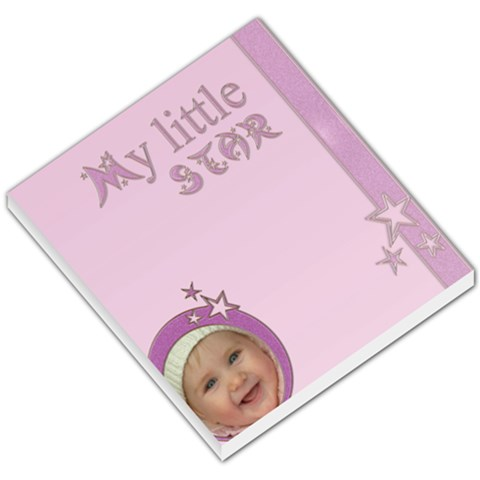 My Little Star Girl   Memopad By Carmensita   Small Memo Pads   Sy14dbuj7peb   Www Artscow Com