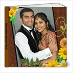 WEDDING RECEPTION ALBUM - 8x8 Photo Book (39 pages)