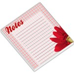 Red Checkered Daisy Notes - Small Memo Pads