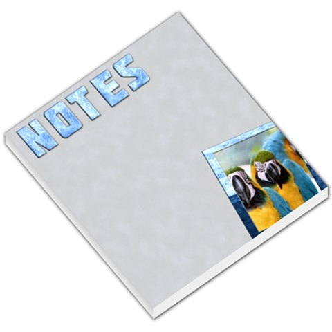 Notes Blue   Memopad By Carmensita   Small Memo Pads   Wg44kqlf23fi   Www Artscow Com