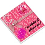 Lovely Pink Bow Memo Pad - Small Memo Pads