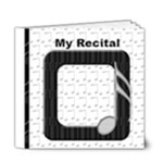 music recital template 6x6 - 6x6 Deluxe Photo Book (20 pages)