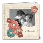 8x8 Morning Room Album - 8x8 Photo Book (20 pages)