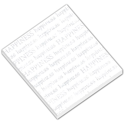 Happiness Memo Pad Template By Mikki   Small Memo Pads   6czo94vpln2a   Www Artscow Com