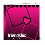 FRIEND SHIP 6x6 - 6x6 Photo Book (20 pages)