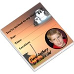 Davids Birthday - MEMOPAD - Small Memo Pads