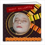 Halloween template book - 8x8 Photo Book (20 pages)