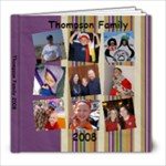 Thompson Family 2008 - 8x8 Photo Book (39 pages)