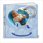 It s A Boy 6x6 Photo Book - 6x6 Photo Book (20 pages)
