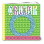 cruise template book - 8x8 Photo Book (20 pages)