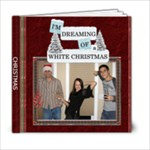 White Christmas 6x6 Photo Book - 6x6 Photo Book (20 pages)