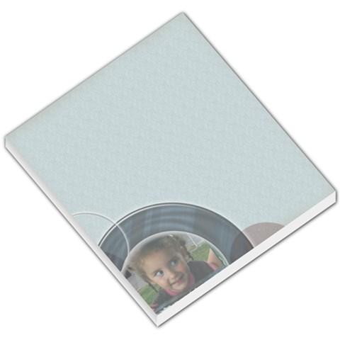 Lightblue Memopad By Amanda Bunn   Small Memo Pads   9gz7khs7z60i   Www Artscow Com