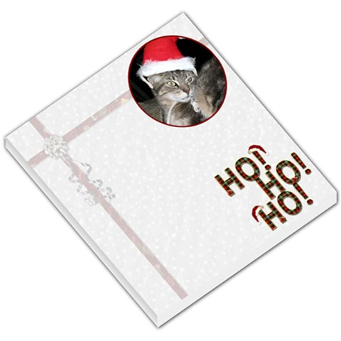Christmas Memo Pad By Lil    Small Memo Pads   9a6ye74d5ous   Www Artscow Com